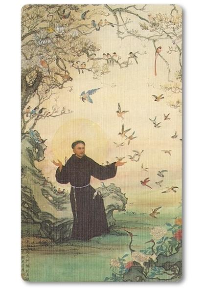 卡片-聖方濟禱詞